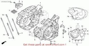 honda trx300ex fourtrax 300ex 1994 (r) usa crankcase schematic  Wiring Diagram For A 1995 Honda 300ex Atv #21 Wiring Diagram For A 1995 Honda 300ex Atv