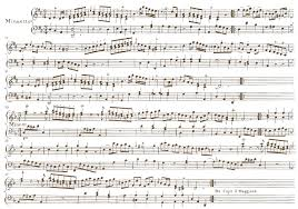 writing about music instrumental theory of music jc bach minuet from op 5 no 2