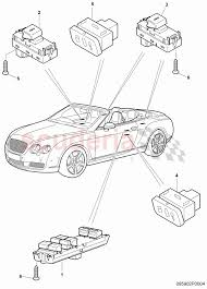 switch in door trim driver s door for bentley continental enlarge diagram · Â