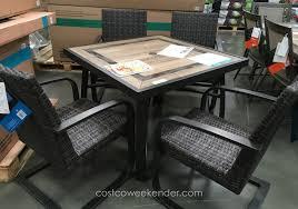 sofa charming patio furniture costco interior or on garden medium size of piece dining set