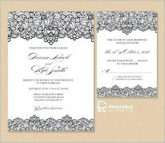 Template For Wedding Invitation Inserts Archives Tidee
