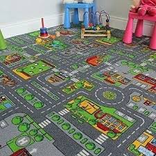 childrens play rug 1 of road map rug kids city village town road play mat childrens play rug