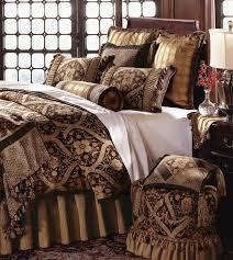 luxury comforter sets brown