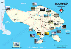 large bali maps for free download and print  highresolution and