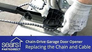 garage door chain loose garage door opener chain chain drive vs belt garage door opener