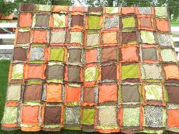 Queen Size Quilt Patterns Interesting Queen Size Rag Quilts A Vision To Remember All Things Handmade
