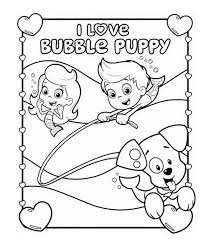 Small Picture I Love Bubble Guppies Coloring Pages Cartoon Coloring pages of