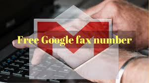 electronic fax free free google fax number ways to get it savedelete