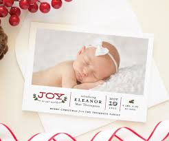 Birth Announcement Christmas Cards 2016 Holiday Collection