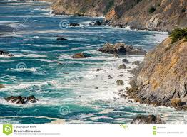 Pacific Coast Landscape Design Inc Usa Pacific Coast Landscape California Stock Photo Image