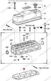 TOYOTA 2Z/2Z-II CYLINDER HEAD GASKET (LS4117)   Lsfork Lifts