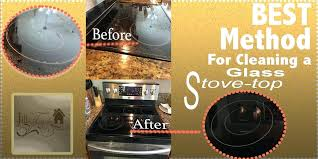 best way to clean glass top stove the best way to clean a glass top stove