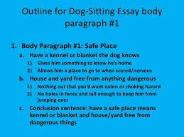 getting started writing in th grade 10 outline for dog sitting essay
