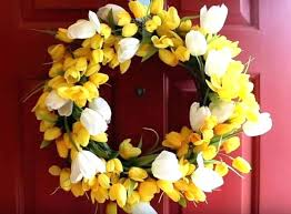 outdoor door wreaths spring front door wreaths completed spring flower door wreath spring outdoor wreaths for outdoor door wreaths