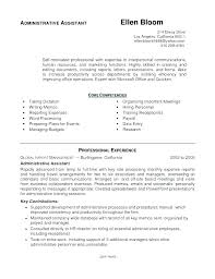 Resume Templates Administrative Assistant 10 Administrative Assistant Resume Templates Etciscoming
