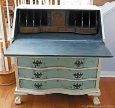 vintage claw foot drop front secretary desk uniquely yours oh i want to find