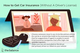 Who has low cost car insurance for bad credit? How To Get Car Insurance Without A License