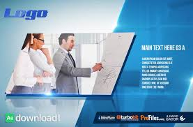 After Effects Corporate Presentation Template Free Download 8 After