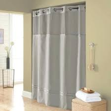 hookless shower liner escape x fabric shower curtain and shower curtain liner set in grey hookless hookless shower liner