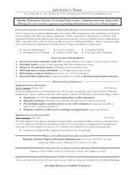 Resume Template Administrative Assistant New Free Award Winning Resume Templates Admin Assistant Great