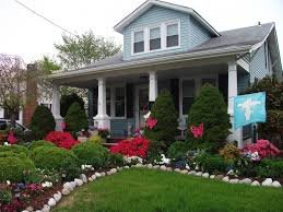 Small Picture front yard landscaping with small grass area for a bungalow love