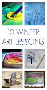 Elementary Art Lesson Plans 10 Winter Art Lesson Plans For Children Nurturestore