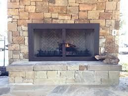 fireplace doors and screens old world enclosure glass door fireplace screens home depot