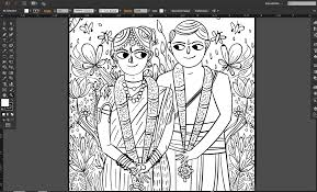 Quirky Indian Wedding Invitations Tamil Brahmin Wedding Invitation