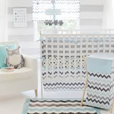 graceful blue cot bedding set chevron grey mbs home sets nursery