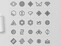 126 лучших изображений доски «Геометрические логотип ...