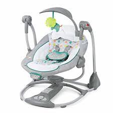 GUO Sillón reclinable appease eléctrica mecedora bebé cuna balancearse  hacia atrás para dormir moisés cama