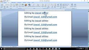 microsoft word 2007 hyperlink and bookmark in hindi and urdu part 3
