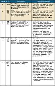 Gfr Kidney Function Chart Dialysis Clinic Inc Kidney Disease Progression