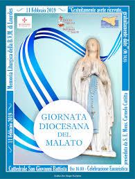 XXVII Giornata Mondiale del Malato - 11 Febbraio 2019 - Diocesi di Ragusa