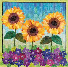 Quilt summer away: patterns to celebrate the season - Stitch This ... & From Flower Show Quilts Summer ... Adamdwight.com