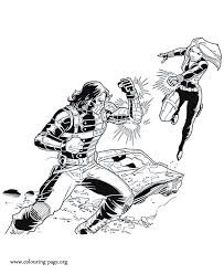 Captain America Winter Soldier Coloring Pages Color Bros
