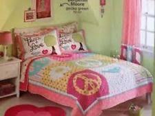 Circo Girls' Floral Kids & Teens Quilts | eBay & CIRCO PEACE 2 PC TWIN QUILT SET SHAM PINK GIRLS NEW FLORAL DOTS NEW Adamdwight.com