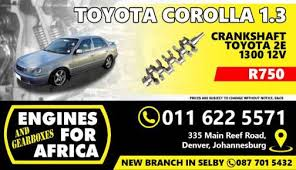 Toyota Corolla in Northern Cape | Value Forest