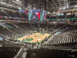 Seating Chart Fiserv Forum Fiserv Forum Section 109 Milwaukee Bucks Rateyourseats Com