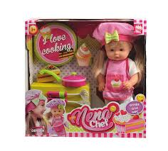 <b>Dimian</b> Игровой набор с <b>куклой</b> Baby <b>Nena</b> Шеф повар — купить в ...