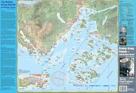 Broken Group Barkley Sound Waterproof Map