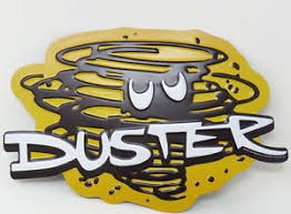 dodge duster logo. Delighful Dodge Image Is Loading NewPlymouthDusterCloudDieCutEmbossedMetal Throughout Dodge Duster Logo O