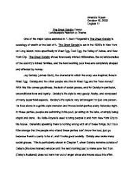 great gatsby analysis essay co great gatsby analysis essay