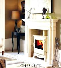wood burning fireplace with gas starter s
