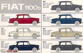 Car Paint Colors Chart Original Vintage Car Paint Colours Team Bhp