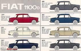 Automotive Paint Color Chart Original Vintage Car Paint Colours Team Bhp