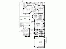 mediterranean house plan with 3031 square feet and 4 bedrooms from 4 Bedroom House Plans For Narrow Lots 4 Bedroom House Plans For Narrow Lots #46 Small Narrow Lot House Plans