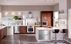 Marble Floor Kitchen Kitchen Witching Modern Kitchen With Brown Wooden Cabinet