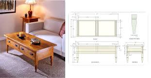 coffee table plans ana white rustic x coffee table plans