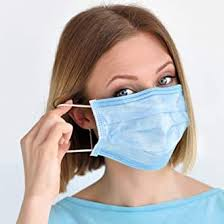 Sansin <b>50 Pcs</b> Pack <b>Disposable</b> Face <b>Mask</b> Comfort Breathable 3-Ply